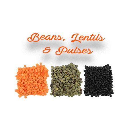 Beans Lentils & Pulses